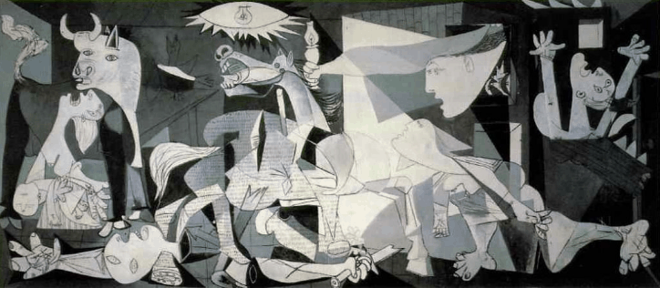 Are you a work of art. Guernica by Pablo Picasso 1937