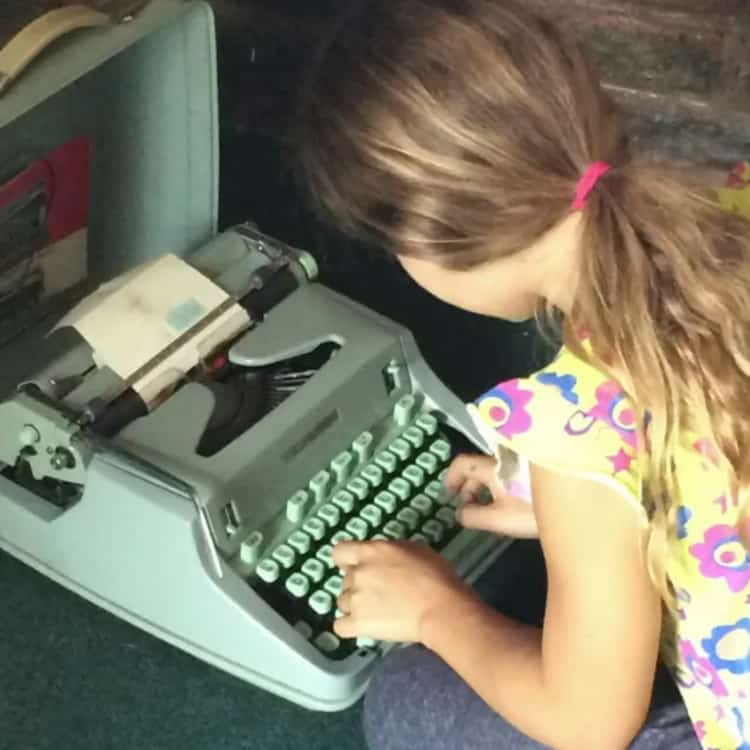 The typewriter that inspired the Legacy Writer logo