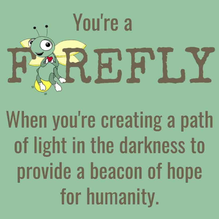 Fyrefly marketing for lightworkers