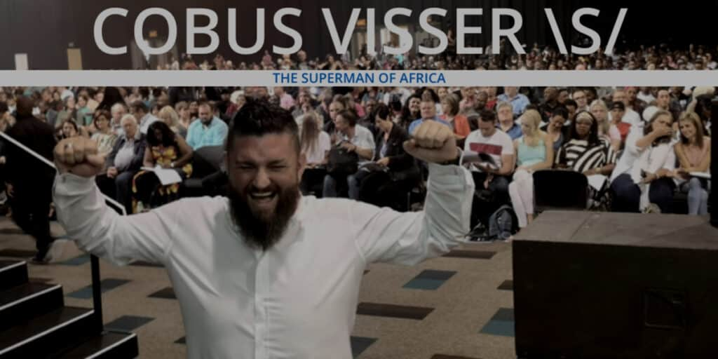 Cobus Visser is the Superman of Africa