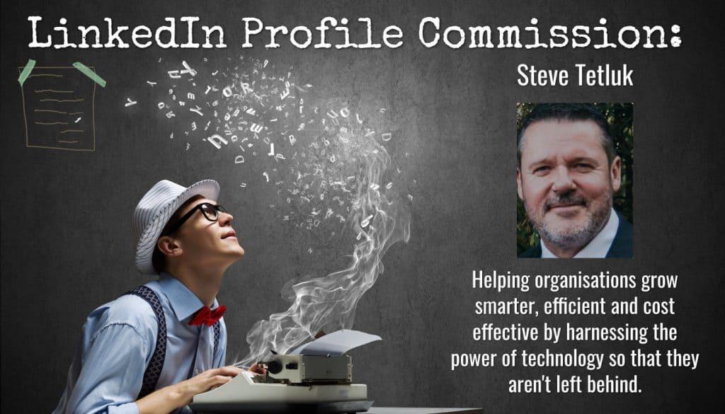 LinkedIn profile Steve Tetluk, Smart Ideas Group